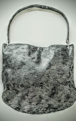 Pouch Bag anthracite leather