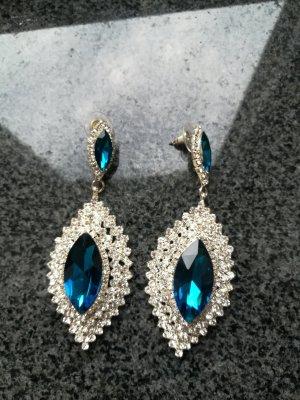 Glamour Strass Ohrringe für Hochzeiten