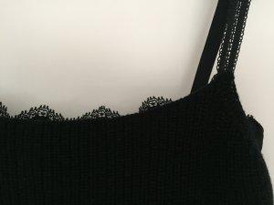 Glamour-Strick: MARC CAIN Top mit integriertem Spitzen-BH