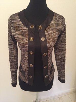 Glamouröse Jacke von Jus d'Orange mit Lurexfäden 36/38