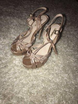 Jumex High Heel Sandal nude