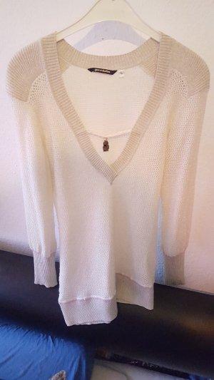 Glamouröser Pullover / Strick / Pulloverkleid von Gsus, Gr. L