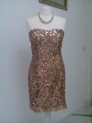 Evening Dress gold-colored