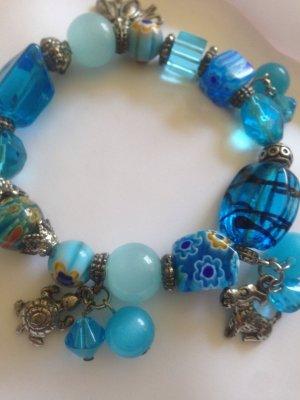 Glasperlen-Armband