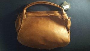 Bolso marrón-color bronce Cuero