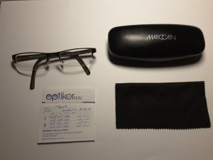 Marccain Glasses black brown synthetic material