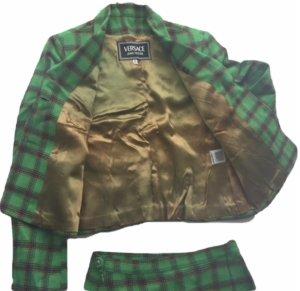 Versace Jeans Couture Traje para mujer verde bosque-verde