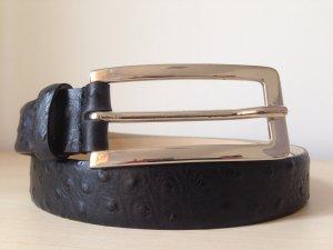 Glenfield Gürtel Leder schwarz Gr. 80
