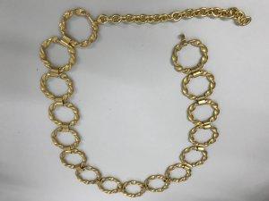 Cintura con catena sabbia Metallo