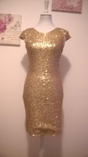 Glitter and Glamour/ Schickes Partykleid/ Figurbetontes Kleid /sexy Rückenausschnitt