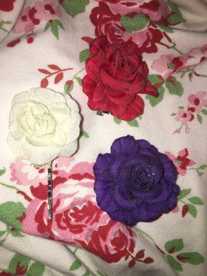 Glitter Rosen Haarspangen