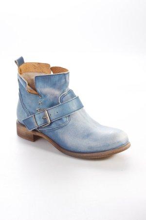 Glitz & Glamour Western-Stiefeletten blau