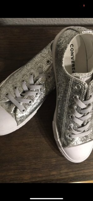 Converse Lace-Up Sneaker silver-colored