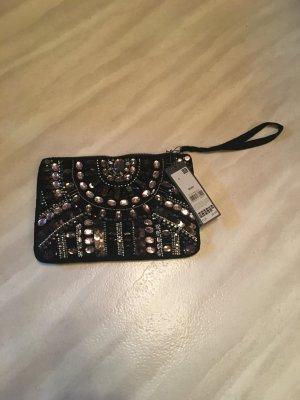 Glitzer Clutch Handtasche