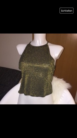 Glitzer Crop Top