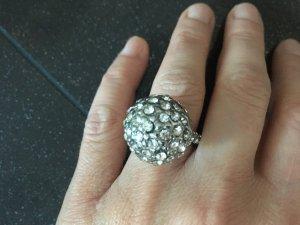 Glitzer-Glam-Ring, ungetragen