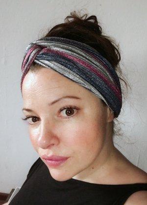 Glitzer Haarband Turban Ohrenwärmer in tollen Farben