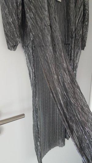 Glitzer Kimono lang mit Seitenschlitz