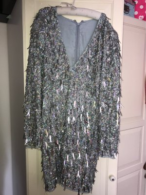 Asos Sequin Dress multicolored polyester