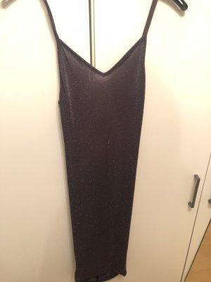Glitzer Kleid mit raffung am Rücken