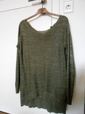 Glitzer Oversized Longarm Shirt