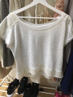 Glitzer Pailletten Shirt von Hollister