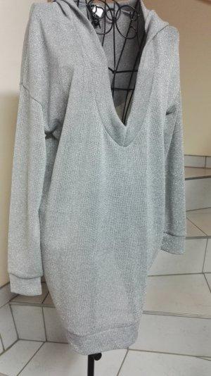 H&M Divided Camicia con cappuccio argento-grigio chiaro