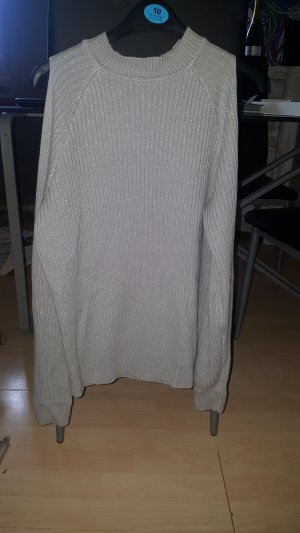 Takko Knitted Sweater silver-colored-light grey