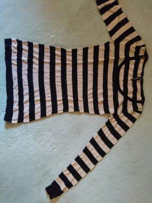 Blind Date Sweater zwart-zandig bruin Gemengd weefsel