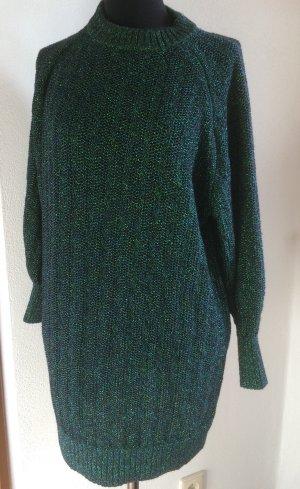 H&M Long Sweater dark green-forest green