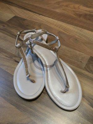 Glitzer Riemchen Sandalen