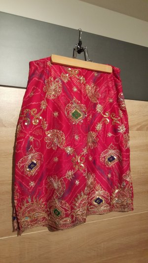 Lace Skirt multicolored polyester