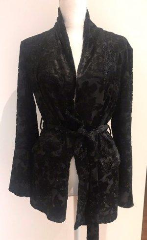Zara Sweat Blazer black new wool