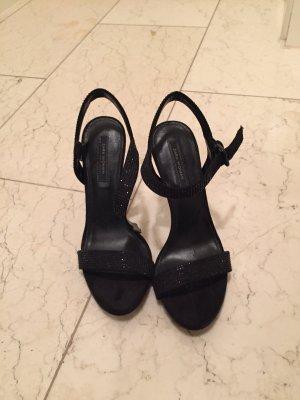 Glitzer Sandaletten von Zara