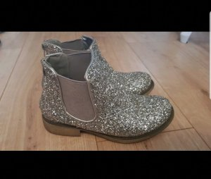 Ankle Boots silver-colored