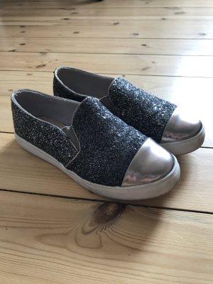 Glitzer Schuhe vansoptik Vans Sneaker Glitzerschuhe
