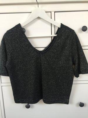 Glitzer Shirt 3/4 Ärmel
