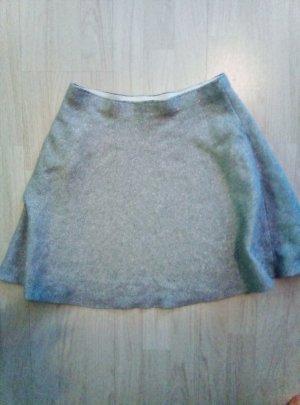 Skater Skirt silver-colored