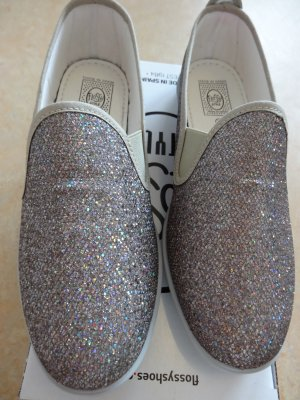 Glitzer Slipper von Flossy (Made in Spain) Modell: Orba