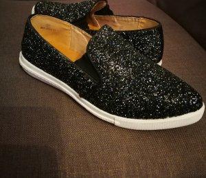 Glitzer Sneaker Tkmaxx Schuhe Gr.37 Schwarz