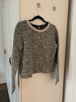 Glitzer Strickjacke