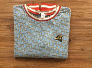 Glitzer- Sweatshirt mit Bienen- Applikation