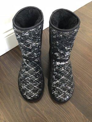 Glitzer UGG Boots halbhoch