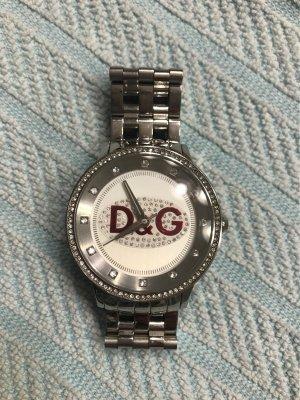 Glitzer Uhr D&G