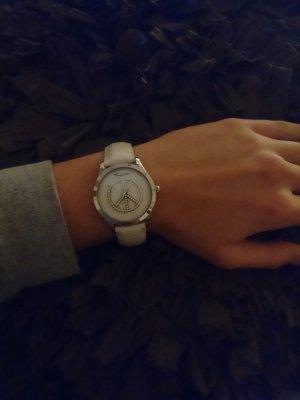 Glitzer-Uhr mit Peace-Zeichen