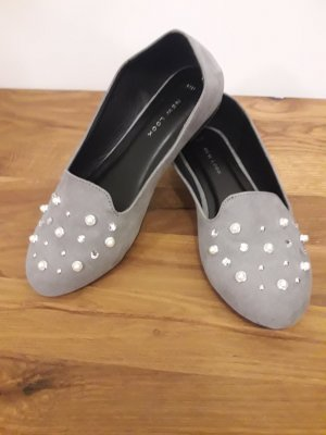 New Look Ballerinas grey