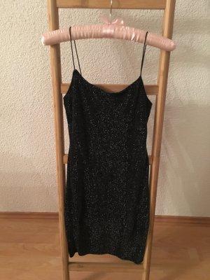 H&M Robe courte noir lycra