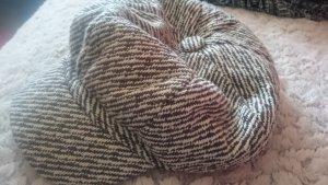 Boina marrón oscuro-beige claro