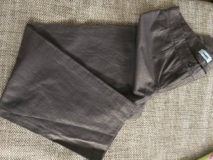 Marlene Trousers dark brown-gold-colored