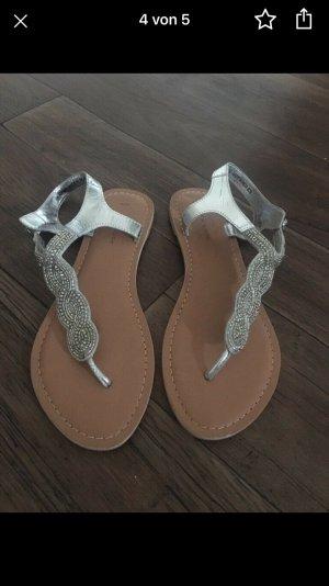 New Look Flip flop sandalen zilver